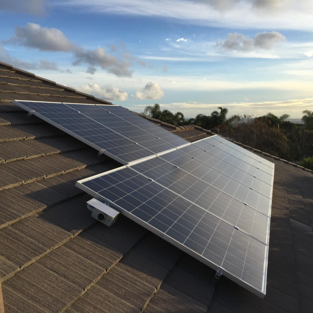 Solar panels installed on a home in Adelaide